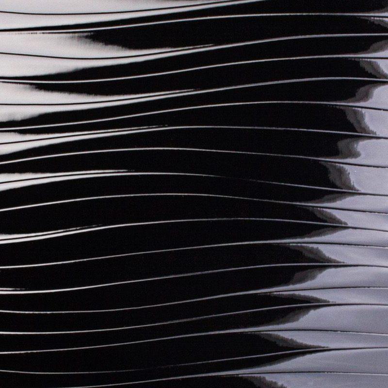 Купить панель черная волна