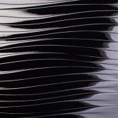 Панель глянец волна черная Р233/665 8*1220*2800 Kastamonu
