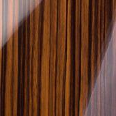 Панель глянец зебрано  Р300/604 18*1220*2800 Kastamonu